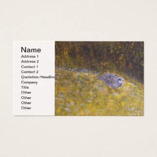 The Bob White Quail Business Card