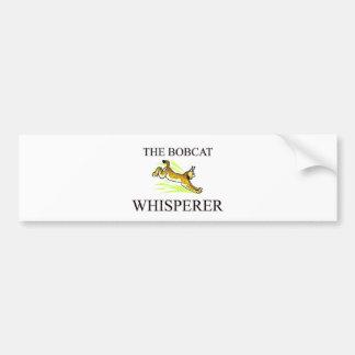 The Bobcat Whisperer Bumper Sticker