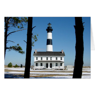The Bodie Island Lighthouse 2 Card