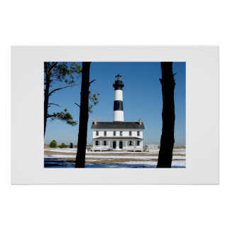The Bodie Island Lighthouse 3 Poster