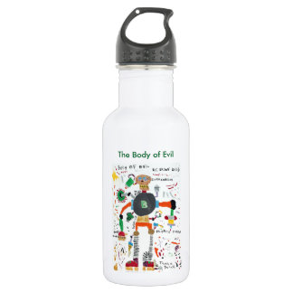 The Body of Evil Stainless Steel Water Bottle