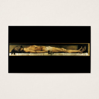 The body of the Dead Christ in the Tomb c. 1522 Business Card