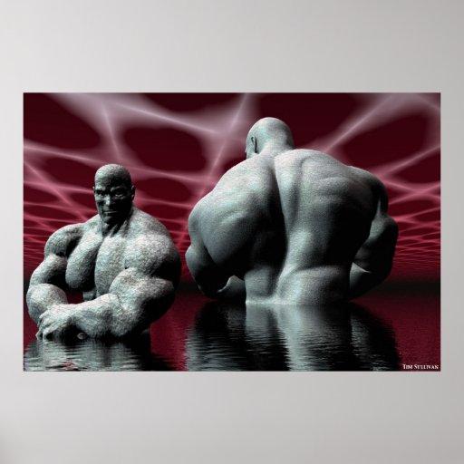 the bodybuilder poster