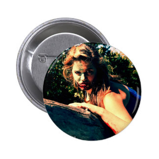The Bog Hag by April A Taylor 2 Inch Round Button