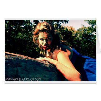 The Bog Hag by April A Taylor Card
