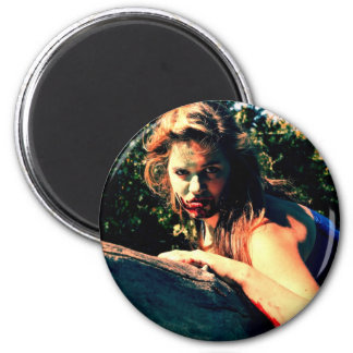The Bog Hag by April A Taylor 2 Inch Round Magnet