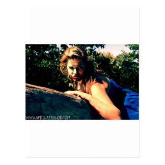 The Bog Hag by April A Taylor Postcard