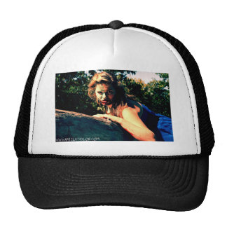 The Bog Hag by April A Taylor Trucker Hat