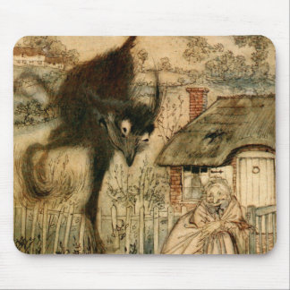 The Bogey-Beast Mouse Pad
