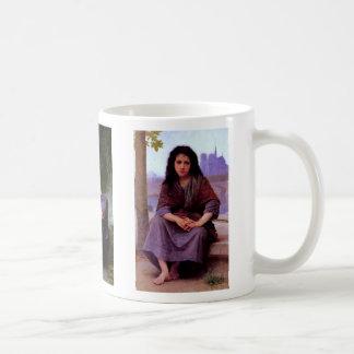 The Bohemian - bohemienne - Bouguereau ~ Classic White Coffee Mug