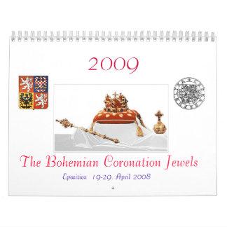 The Bohemian Coronation Jewels Calendar