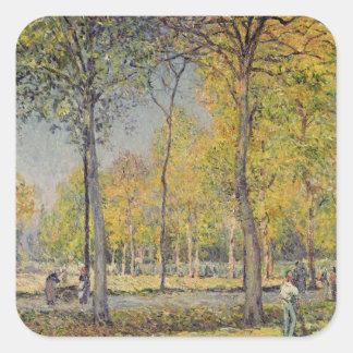 The Bois de Boulogne Square Sticker