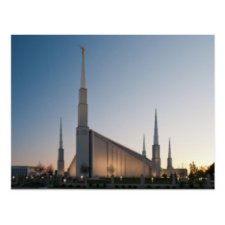 The Boise Idaho LDS Temple Postcard