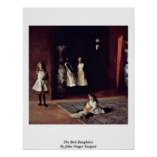 The Boit Daughters By John Singer Sargent Poster
