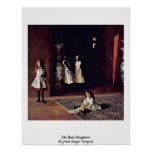 The Boit Daughters By John Singer Sargent Posters