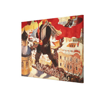 The Bolshevik, 1920 Canvas Print