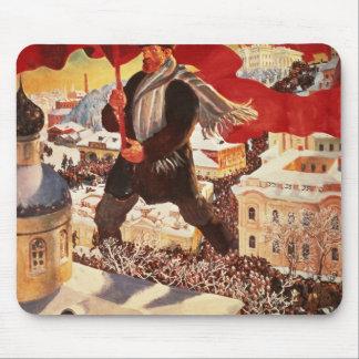 The Bolshevik, 1920 Mouse Pad