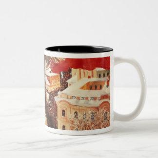 The Bolshevik, 1920 Two-Tone Coffee Mug