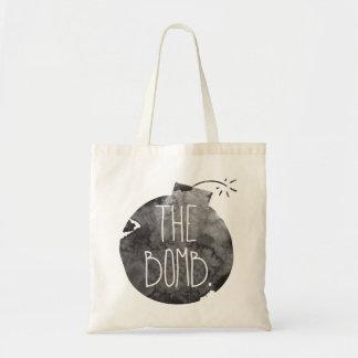 The bomb. budget tote bag