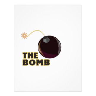The Bomb Custom Letterhead