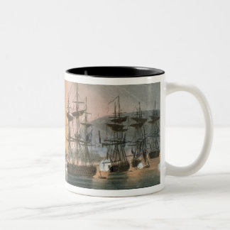 The Bombardment of Algiers, 27th August 1816, from Mug