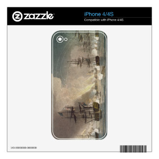 The Bombardment of Algiers by the Royal Navy, 1816 Decals For The iPhone 4