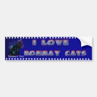 The Bombay Cat Bumper Sticker