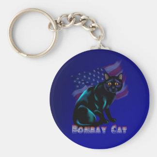 The Bombay Cat Keychain