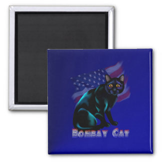 The Bombay Cat Magnet
