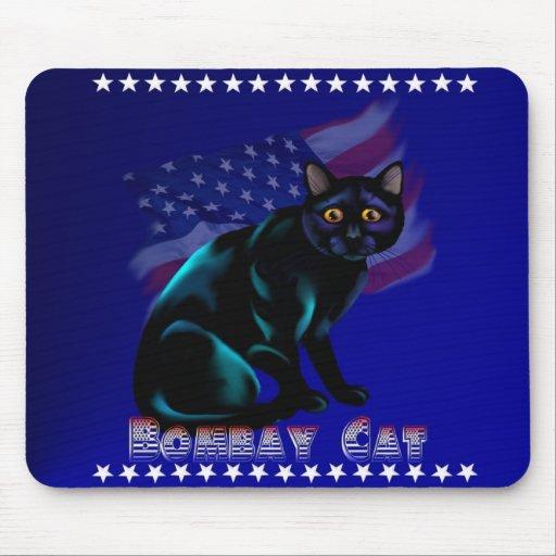 The Bombay Cat Mousepad