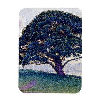 The Bonaventure Pine by Paul Signac Magnet