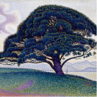 The Bonaventure Pine by Paul Signac Statuette