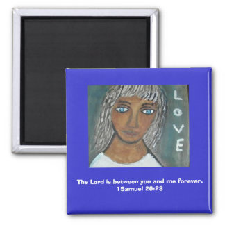 The Bond 2 Inch Square Magnet