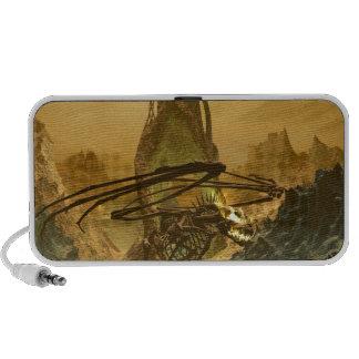 The Bone Dragon's Lair Laptop Speaker