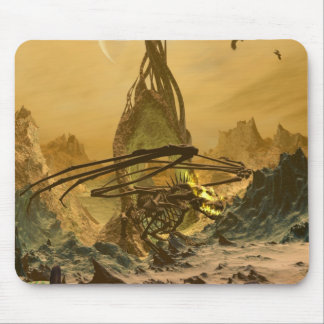 The Bone Dragon's Lair Mouse Pad