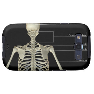 The bones of the upper body samsung galaxy SIII cases