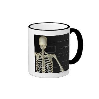 The bones of the upper body ringer coffee mug