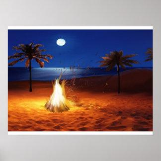 """The Bonfire"" by Jamie Scott Wilson Poster"
