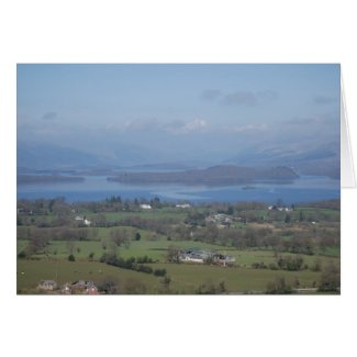The Bonnie Banks of Loch lomond Greeting Card