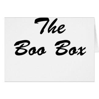 The Boo Box Card