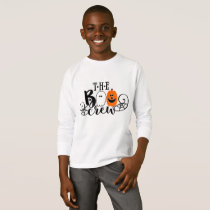 The Boo Crew Halloween Ghost Pumpkin T-Shirt