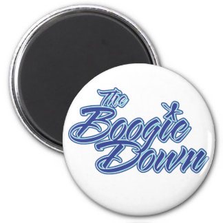 The Boogie Down Refrigerator Magnets