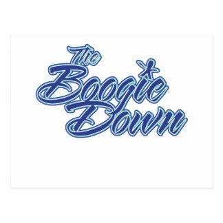 The Boogie Down Postcard