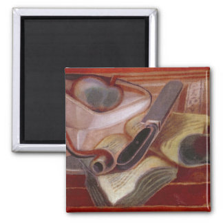 The Book, 1924 2 Inch Square Magnet