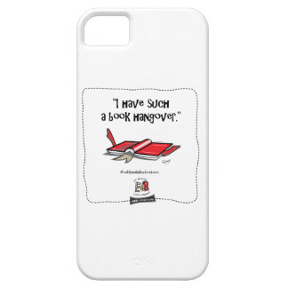 """The Book Hangover """"I have such a book hangover"""" iPhone SE/5/5s Case"""