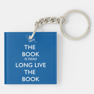 The Book Is Dead, Long Live the Book Keychain