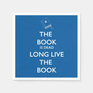 The Book Is Dead, Long Live the Book Napkin