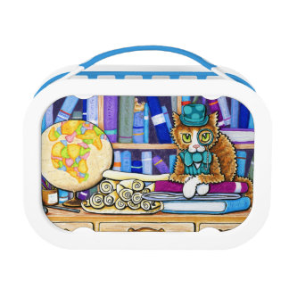 The Book Keeper Yubo Lunch Box