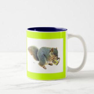 The Book Lover Two-Tone Coffee Mug