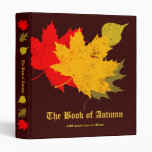 The Book of Autumn 3 Ring Binder